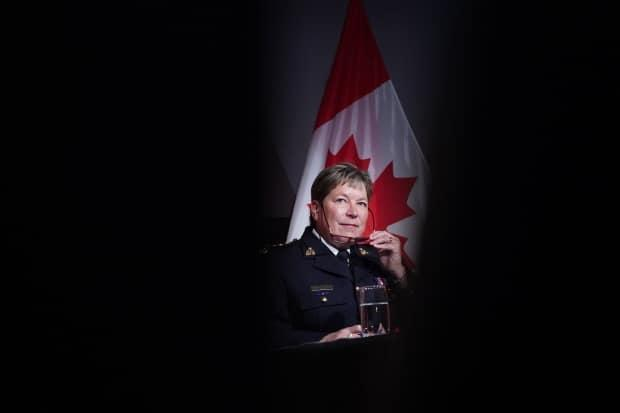 Brenda Lucki is the current RCMP commissioner, assuming the role in April 2018.  (Chris Wattie/Canadian Press - image credit)