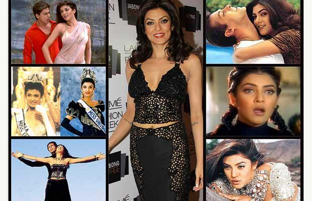 Sushmita Sen turns 39 today. This gorgeous lady has become a true inspiration to many women who are independant, single and sucessfull. On her birthday we see through the many faces that Miss Universe has and is known for.
