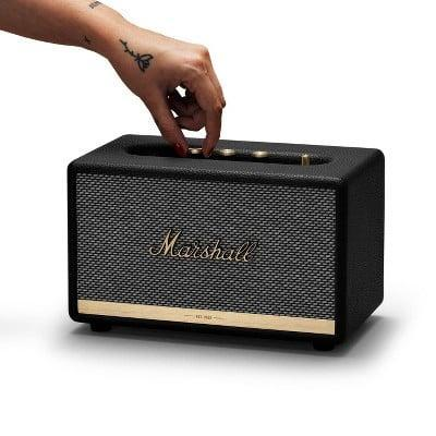<p>If she loves a retro yet modern look, the <span>Marshall Acton II Bluetooth Speaker</span> ($230) is a must-hav. Not only does it have unparalled sound but the speaker looks stunning on display.</p>