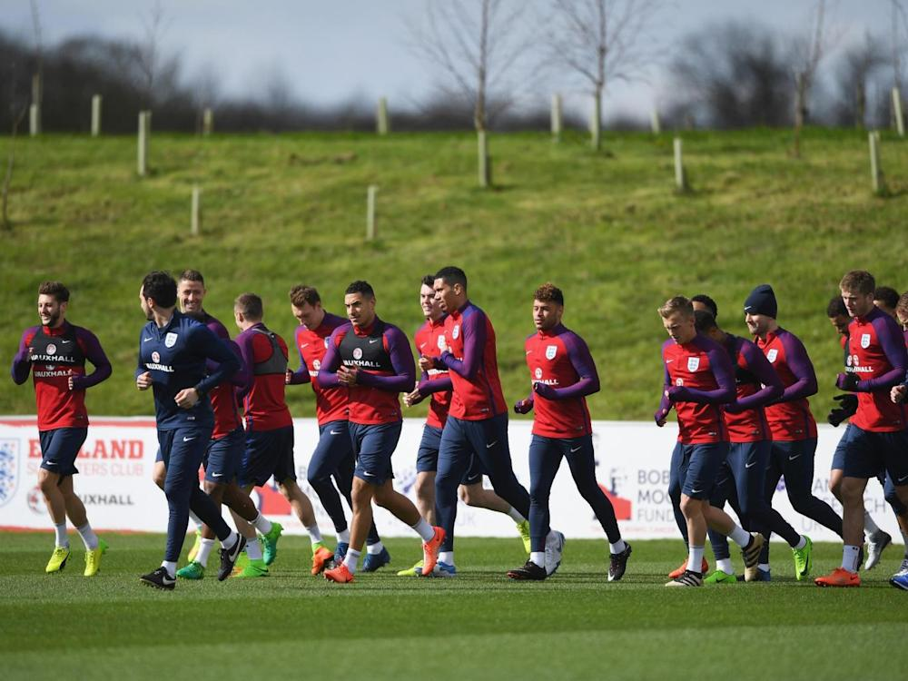 Southgate is making the most of England's time together (Getty)