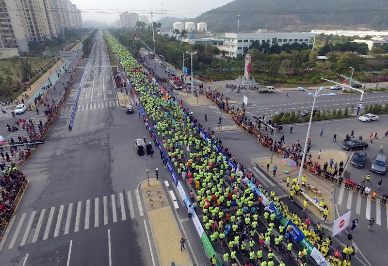 Athletics - Life bans for China's marathon cheats