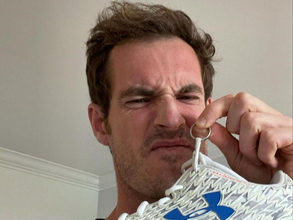 Andy Murray has retrieved his trainers and wedding ring (Andy Murray / Instagram)