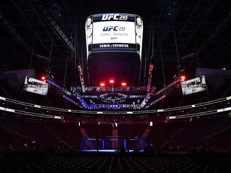 Follow live coverage of UFC 245: Getty