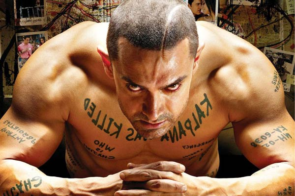 Ghajini : Again Aamir Khan and again method acting. Here too he transformed his body, transformed his hairstyle and went through intense training process just to get the look right.