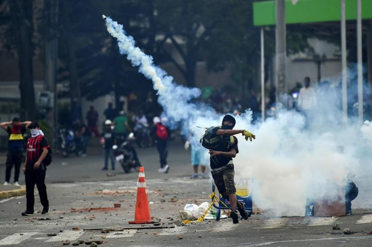 Cali has been the epicenter of protests against Colombia's government that erupted on April 28, 2021