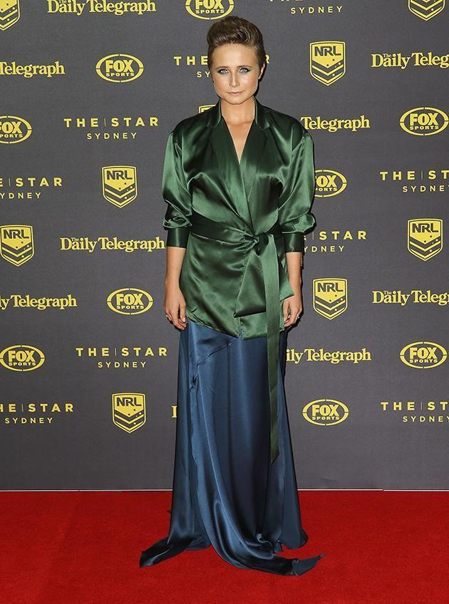 Tessa James attends the Dally M awards. Photo: Getty Images