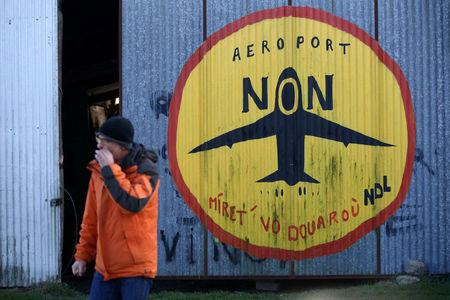 France to clear decade-old airport protest camp