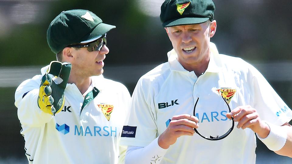 Tim Paine, pictured here in action for Tasmania in the Sheffield Shield.