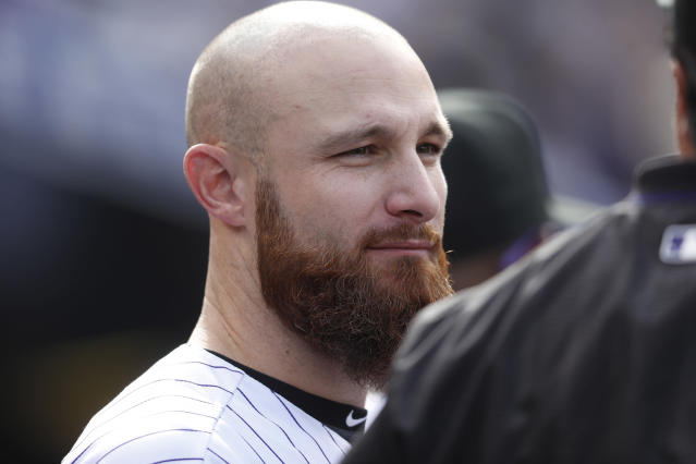 "<a class=""link rapid-noclick-resp"" href=""/mlb/players/8609/"" data-ylk=""slk:Jonathan Lucroy"">Jonathan Lucroy</a> split last season between the Rockies and Rangers. (AP)"