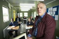 <p> <strong>UK: </strong>All4, to buy on Amazon Prime Video </p> <p> <strong>US:</strong> Netflix </p> <p> Greg Davies stars as teacher Dan, a guy that just can't seem to get it right. After his girlfriend leaves him, the series follows him on his often ludicrous episodic adventures with his friends Jo and Brian, including meeting a guru with a powerful butt and his plans to win back his girlfriend with two packets of mince. The hole left by Rik Mayall as Dan's practical-joke playing dad is luckily filled in by some well-timed jokes. If you're looking for short, sharp, light humour, Man Down fits the bill. </p>