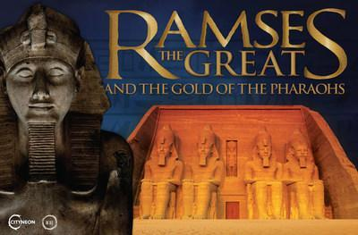 The 10-city global tour of Ramses the Great and the Gold of the Pharaohs is set to open November 20, 2021 in its world premiere engagement at Houston Museum of Natural Science.