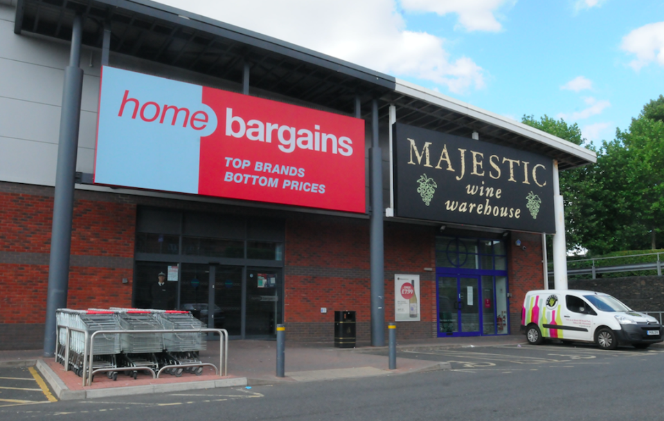 <em>The toddler was in a pushchair with his family in Home Bargains in Worcester when a corrosive substance was 'thrown or sprayed' over him (PA)</em>
