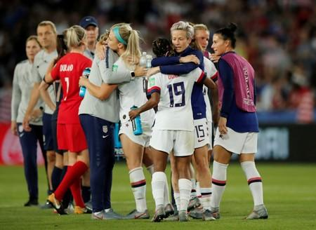 Maybe I just got pushed right to the side - Megan Rapinoe