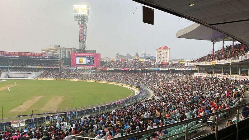 The CAL vs TMC match will take place at Eden Gardens. (Image Courtesy: Twitter)
