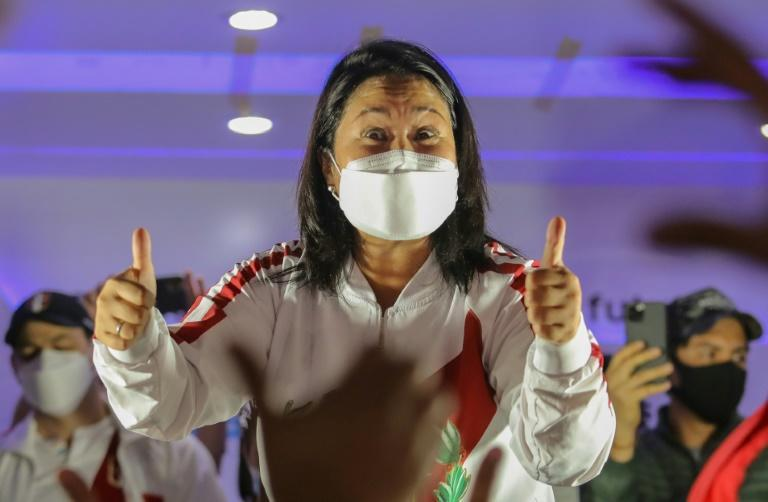 Rightwing candidate Keiko Fujimori faces an imminent corruption trial if she loses the presidential race