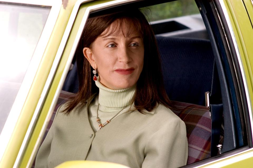 "<h1 class=""title"">TRANSAMERICA, Felicity Huffman, 2005, ©IFC Films/Courtesy Everett Collection</h1> <div class=""caption""> Felicity Huffman in 2005's <em>Transamerica</em> </div> <cite class=""credit"">©IFC Films/Courtesy Everett Collection</cite>"