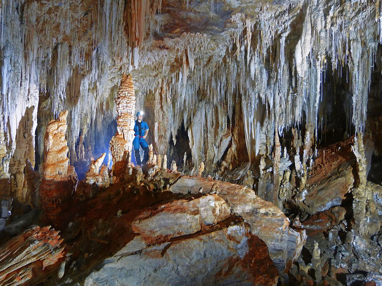 "<p>""The area has some hidden gems as well,"" Rafael says. ""There are many other cave systems or even just hidden galleries that few people know and where only cavers usually go."" (Photo: Daniel Menin/Caters News) </p>"