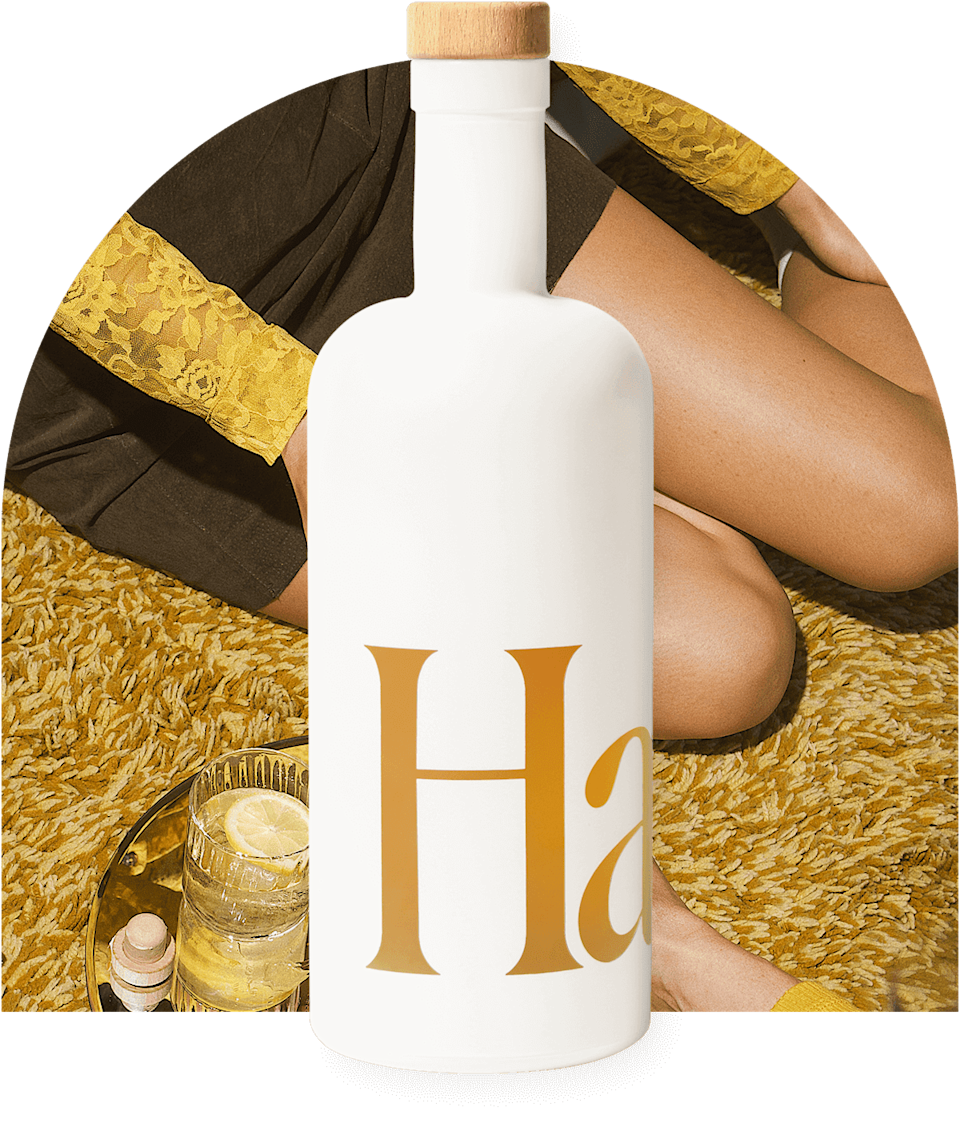"""<p>""""For the perfect springtime cocktail, order a pretty bottle of <span>Haus Citrus Flower</span> ($35). I personally love Citrus Flower, which is a Californian take on the apéritif. It's made with crisp lemon and subtle elderflower. I like to add some sparkling water to mine."""" - MCW</p>"""