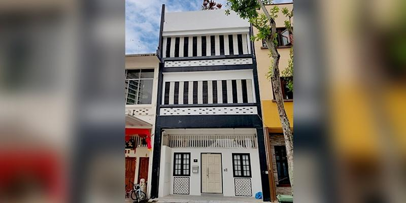 <p><img/></p>A three-storey terrace house with an attic has been put up for sale by tender for $6.6 million, or $1,200 psf based on its total built-up area of 5,500 sq ft...
