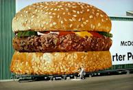 <p>While the location of this billboard is unknown, one thing's for certain: Anyone who passed by it definitely wanted a Big Mac afterwards.</p>