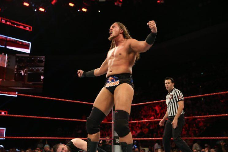 Big Cass is seen competing in the ring at a WWE event. (Photo courtesy of WWE)