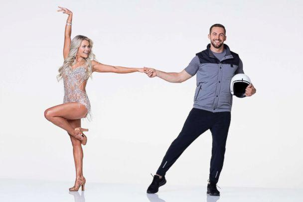 PHOTO: Olympic luger Chris Mazdzer is hitting the dance floor with pro Witney Carson. (Craig Sjodin/ABC)