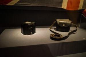 The Kodak Baby Brownie camera from the 1930s owned by former prisoner-of-war Sergeant John Ritchie Johnston. Photo: Coconuts