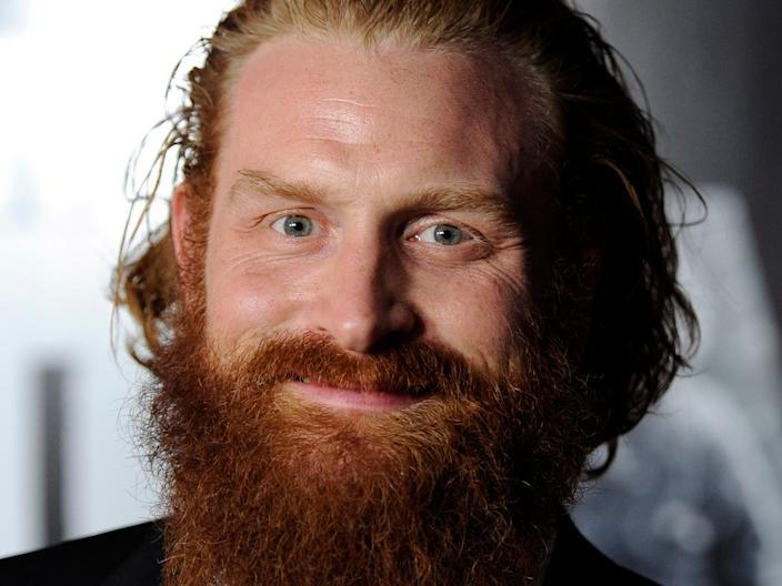 "Kristofer Hivju has recovered from COVID-19. <p class=""copyright"">Chris Pizzello/AP</p>"