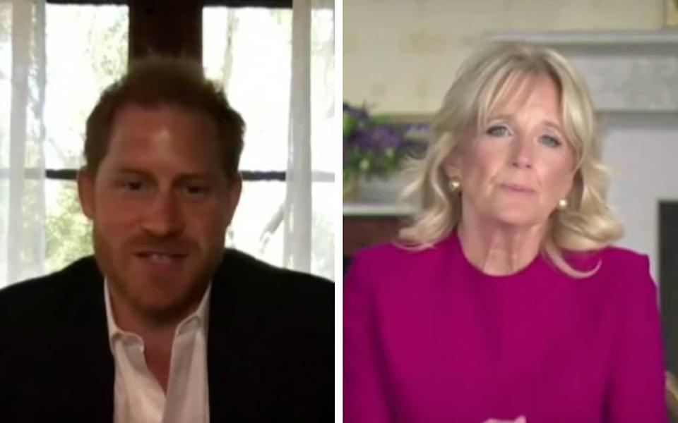 Prince Harry and Dr Biden have for many years worked together to support veterans - WH.GOV