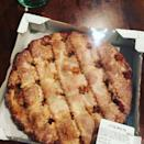 """<p>This pie is no joke — weighing about 5 pounds. Do you think you'd add it to your Thanksgiving dessert table? Read more info on this <a href=""""https://www.bestproducts.com/lifestyle/a24851937/costco-huge-lattice-apple-pie/"""" rel=""""nofollow noopener"""" target=""""_blank"""" data-ylk=""""slk:apple pie"""" class=""""link rapid-noclick-resp"""">apple pie</a> here to decide! </p>"""