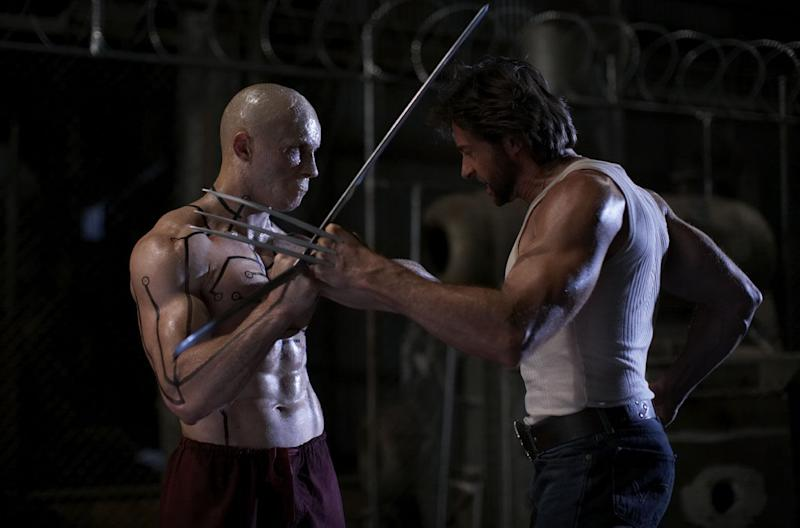 The last time Ryan Reynolds and Hugh Jackman met onscreen in 'X-Men Origins: Wolverine' (credit: 20th Century Fox)
