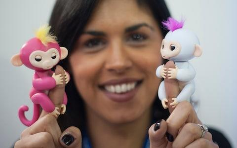 These interactive monkeys have been a hit this Christmas - but check the ones you are buying are the real deal - Credit: Eddie Mulholland