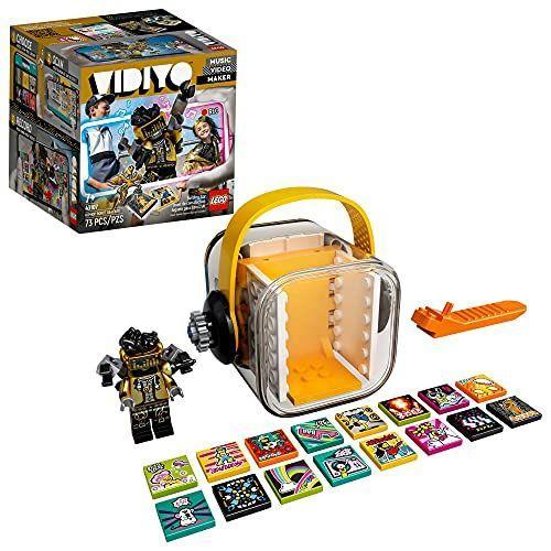 """<p><strong>LEGO</strong></p><p>amazon.com</p><p><strong>$19.95</strong></p><p><a href=""""https://www.amazon.com/dp/B08NFCQRHK?tag=syn-yahoo-20&ascsubtag=%5Bartid%7C10055.g.29413969%5Bsrc%7Cyahoo-us"""" rel=""""nofollow noopener"""" target=""""_blank"""" data-ylk=""""slk:Shop Now"""" class=""""link rapid-noclick-resp"""">Shop Now</a></p><p>When used in conjunction with an app, kids can use their LEGO minifigs to <strong>make music and share videos set to their favorite songs</strong>. Then, they can use """"beatbits,"""" which add cool effects to the videos, like changing the tempo, re-doing the lighting or doing something silly like turning all of the characters into pandas. <em>Ages 7+</em></p>"""