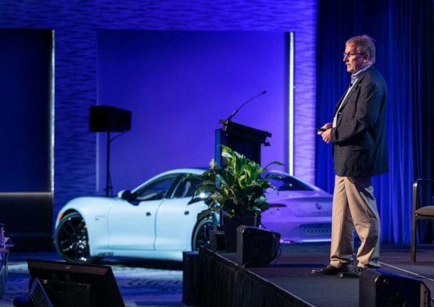 PHOTO: Bob Kruse, Karma's chief technology officer, is a 40-year industry veteran who helped launched the Chevy Volt. (Joe Wilssens Photography)