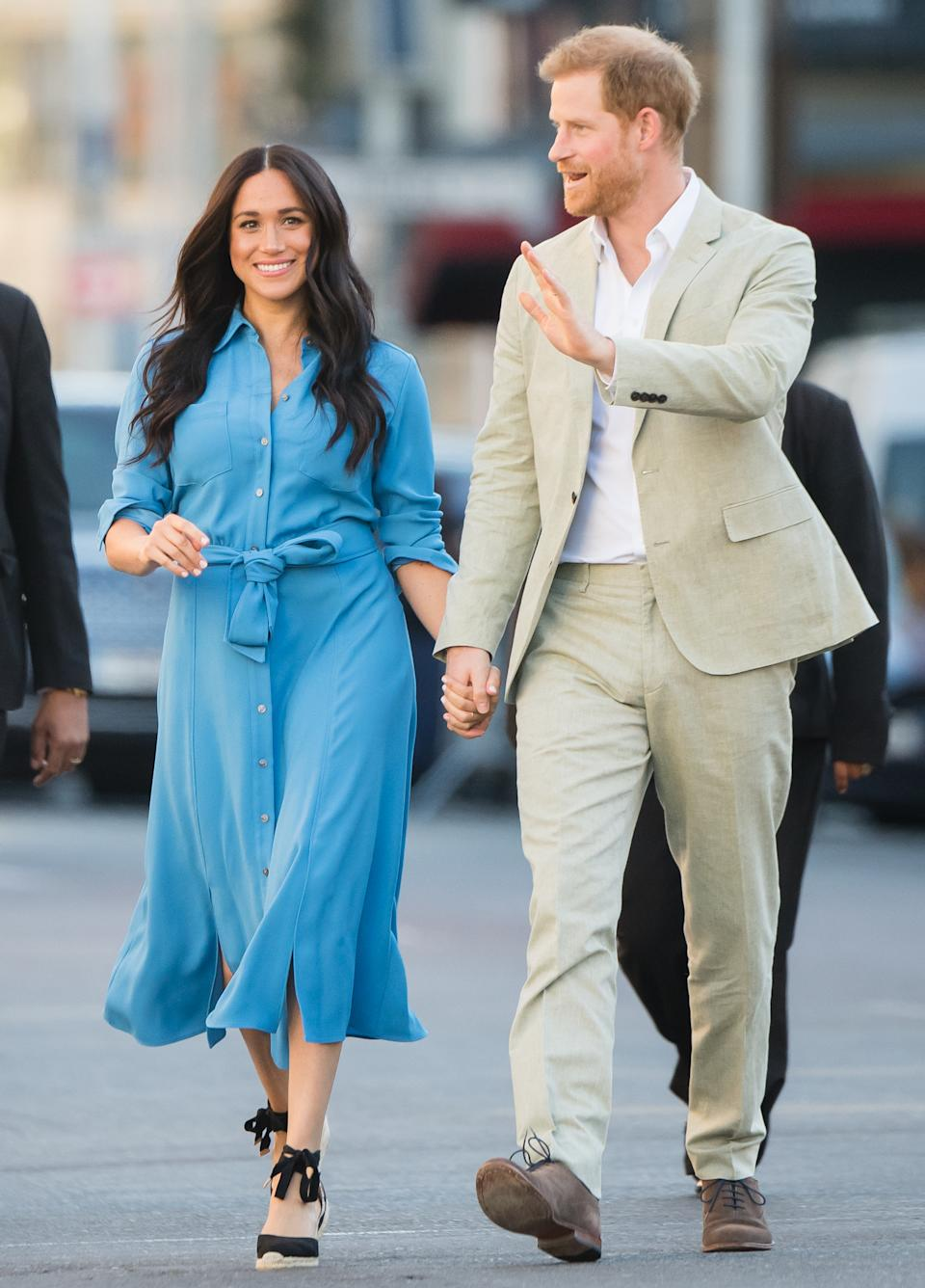 The couple's high-profile, 10-day tour was followed by an equally high-profile ITV documentary, in which Harry appeared to confirm rumours of a rift with his brother William. Meghan also spoke of the pressures involved in being a new mum while living life in the spotlight. <em>[Photo: Getty]</em>
