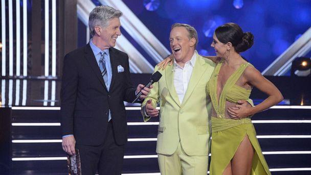 PHOTO: Sean Spicer in a a scene from 'Dancing with the Stars,' Nov. 11, 2019. (Eric Mccandless/ABC)