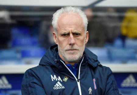 FILE PHOTO: Soccer Football - Championship - Birmingham City vs Ipswich Town - St Andrew's, Birmingham, Britain - March 31, 2018 Ipswich manager Mick McCarthy Action Images/Alan Walter