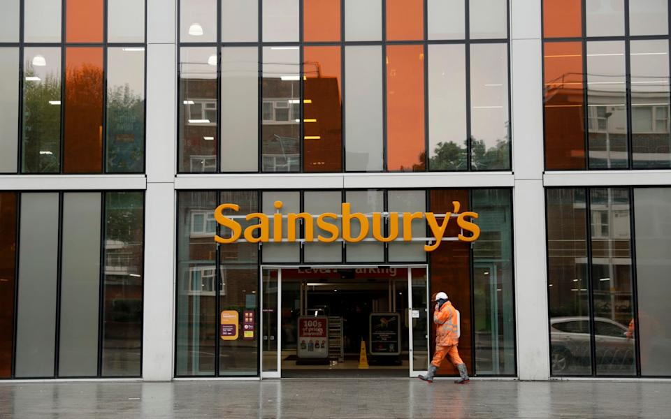 Sainsbury's and its peers have been among the winners of the pandemic, raking in billions from the return of the big weekly shop and the boom in home delivery since March. - Matt Dunham/AP