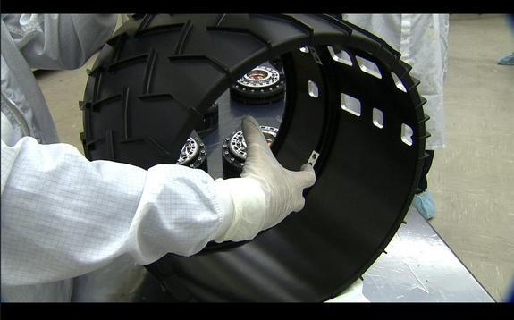 Curiosity rover wheel wear on Mars has become the number-one issue for engineers to cope with and develop work-around strategies for.