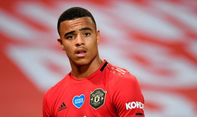 Mason Greenwood apologises after being filmed inhaling laughing gas