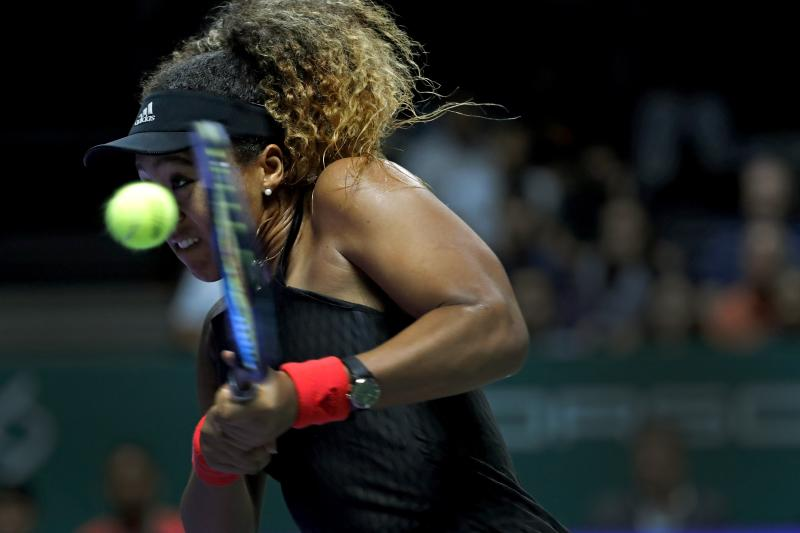 Calm Stephens edges Osaka, Kerber stunned by Bertens