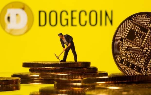 Dogecoin started as an internet in-joke in 2013, parodying the popularity of cryptocurrencies. But doge has now itself grown to be worth $68 billion US. (Dado Ruvic/Reuters - image credit)