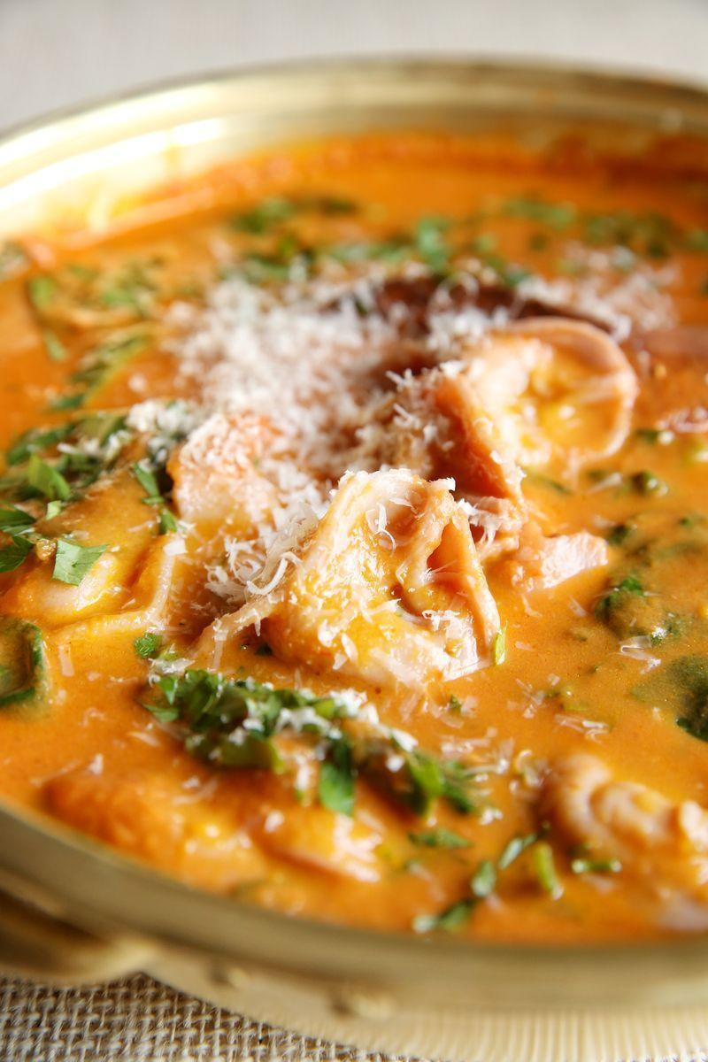 """<p>This creamy, homemade soup puts the supermarket stuff to shame.</p><p>Get the <a href=""""https://www.delish.com/uk/cooking/recipes/a35921386/sun-dried-tomato-tortellini-soup-recipe/"""" rel=""""nofollow noopener"""" target=""""_blank"""" data-ylk=""""slk:Sun-Dried Tomato Tortellini Soup"""" class=""""link rapid-noclick-resp"""">Sun-Dried Tomato Tortellini Soup</a> recipe.</p>"""