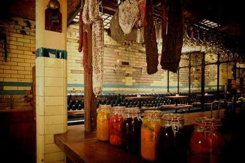 WC, a wine bar that opened in July, is housed inside an abandoned underground toilet, with original walls intact. Courtesy: WC/Facebook