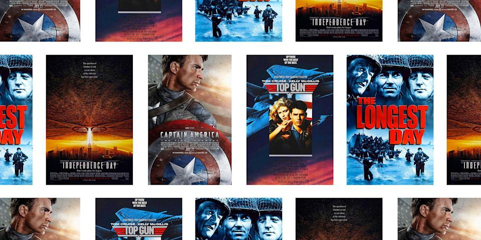 "<p>Whether you're looking for something to curl up with after a day of fun in the sun, searching for a way to keep the kids occupied while you set up the fireworks, or just want something to keep you entertained for a low-key Fourth of July celebration, these patriotic movie picks will satisfy any patriotic appetite. Whatever your flavor, you've got a compelling excuse to <a href=""https://www.townandcountrymag.com/the-scene/parties/g764/fourth-of-july-entertaining/"" rel=""nofollow noopener"" target=""_blank"" data-ylk=""slk:save party clean up"" class=""link rapid-noclick-resp"">save party clean up</a> for later.</p>"