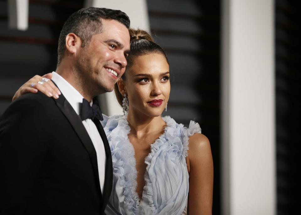 Jessica Alba and Cash Warren have been married since 2008. (Photo: Danny Moloshok / Reuters).