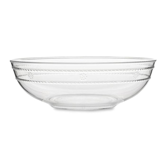 """<p><strong>$42.00</strong></p><p><a href=""""https://www.juliska.com/isabella-acrylic-clear-13-serving-bowl"""" rel=""""nofollow noopener"""" target=""""_blank"""" data-ylk=""""slk:Shop Now"""" class=""""link rapid-noclick-resp"""">Shop Now</a></p><p>This melamine bowl is great for showcasing fresh fruit or serving salad at a picnic or backyard gathering.</p>"""