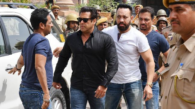 Bollywood superstar Salman Khan, who had a bailable warrant against him in the hit-and-run case got the same cancelled today. His bodyguard Shera has signed up as his surety after former manager Reshma left his side.