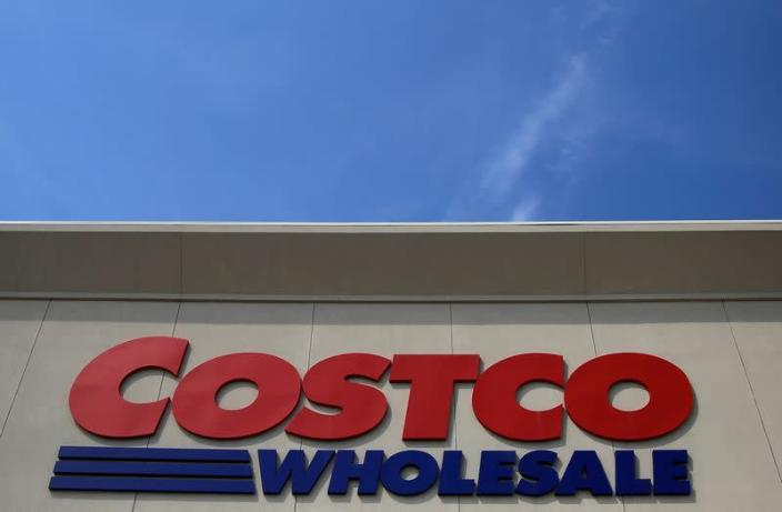 FILE PHOTO: A sign is seen outside a Costco Wholesale store in Glenview