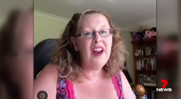 Video footage showed Teresa Bradford singing cheerfully, an image far from the private hell she endured. Photo: 7 News.